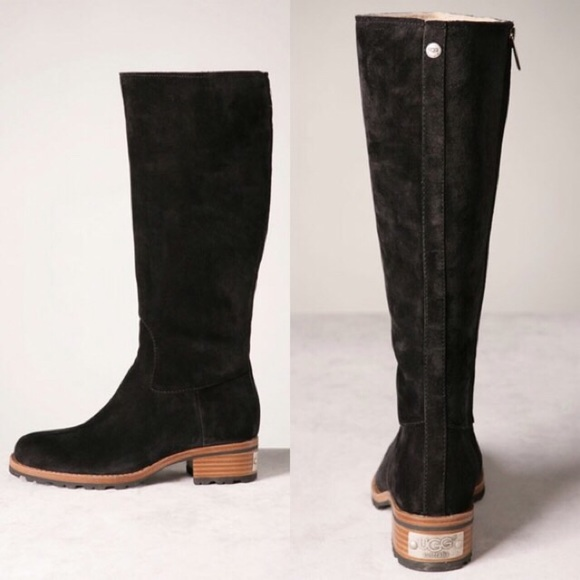 ugg suede riding boots